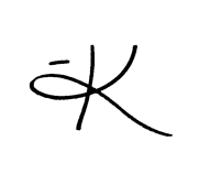 Blog signature (transparent)